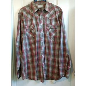 Wrangler Long Sleeve Western Shirt